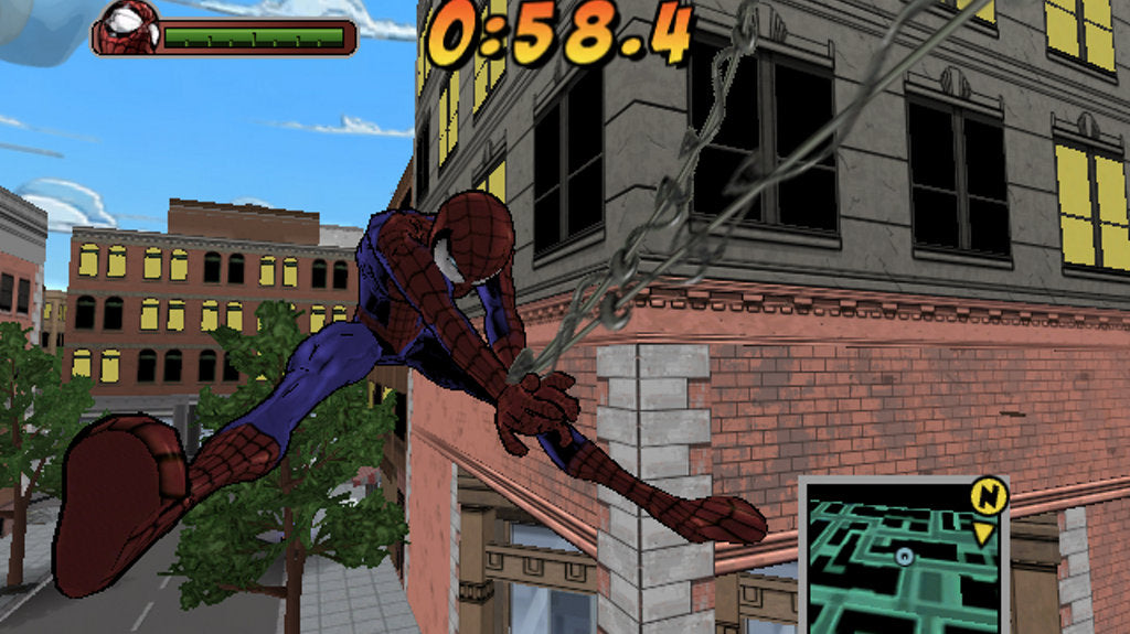 Ultimate Spider-Man (Greatest Hits) - PlayStation 2 (PS2) Game