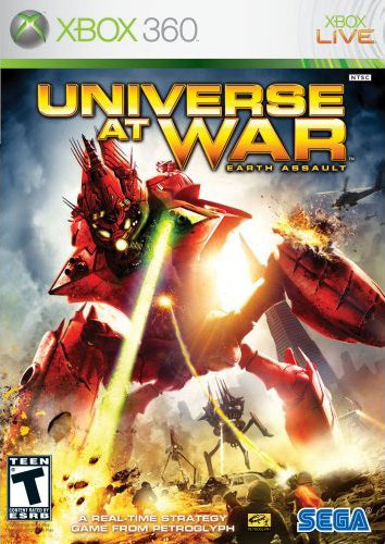 Universe at War: Earth Assault - Microsoft Xbox 360 Game
