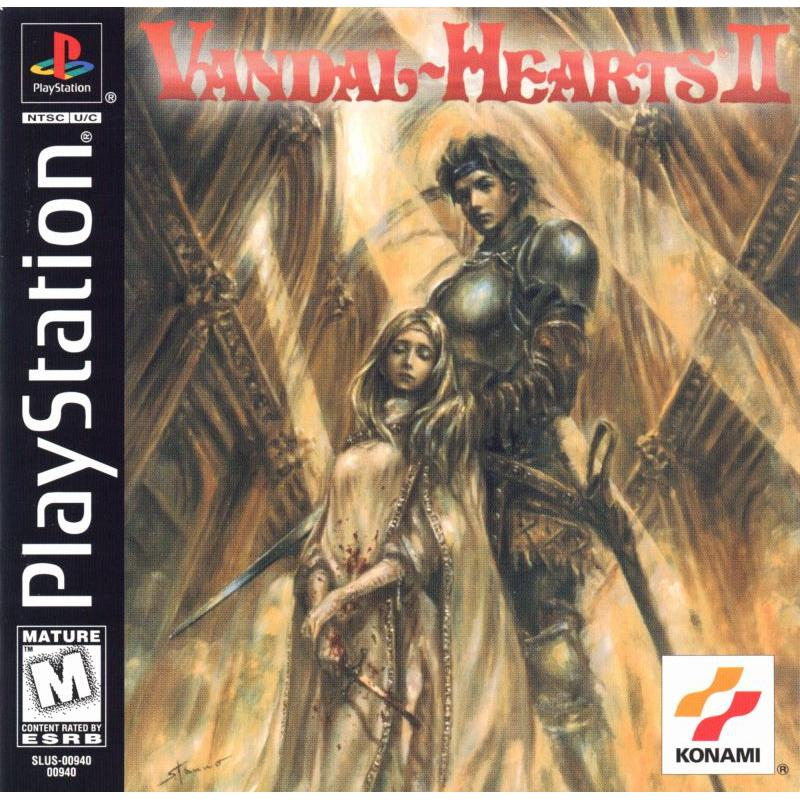 Vandal-Hearts II - PlayStation 1 PS1 Game Complete - YourGamingShop.com - Buy, Sell, Trade Video Games Online. 120 Day Warranty. Satisfaction Guaranteed.