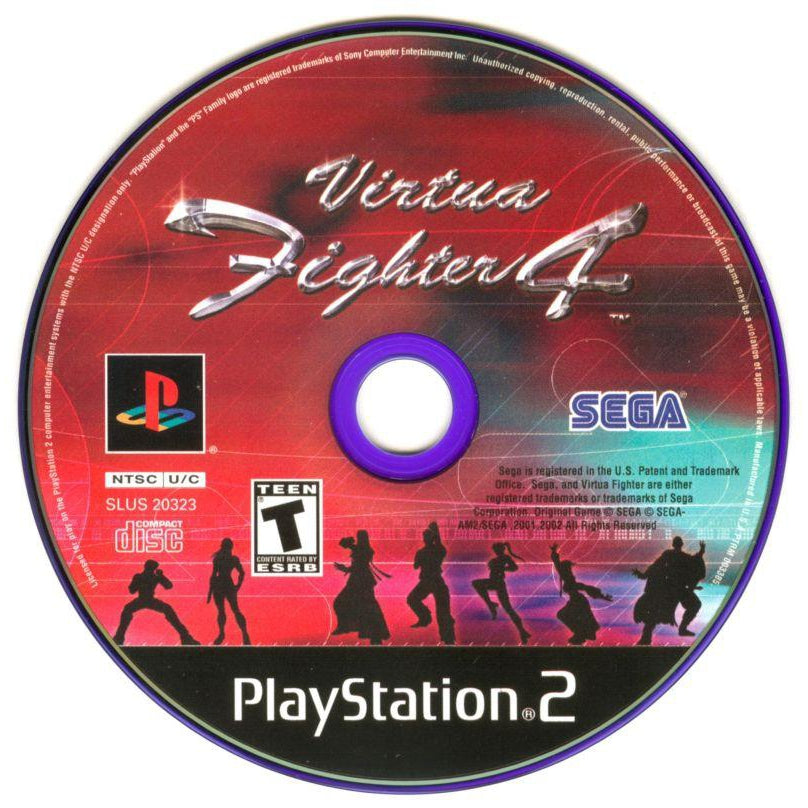 Virtua Fighter 4 - PlayStation 2 (PS2) Game Complete - YourGamingShop.com - Buy, Sell, Trade Video Games Online. 120 Day Warranty. Satisfaction Guaranteed.