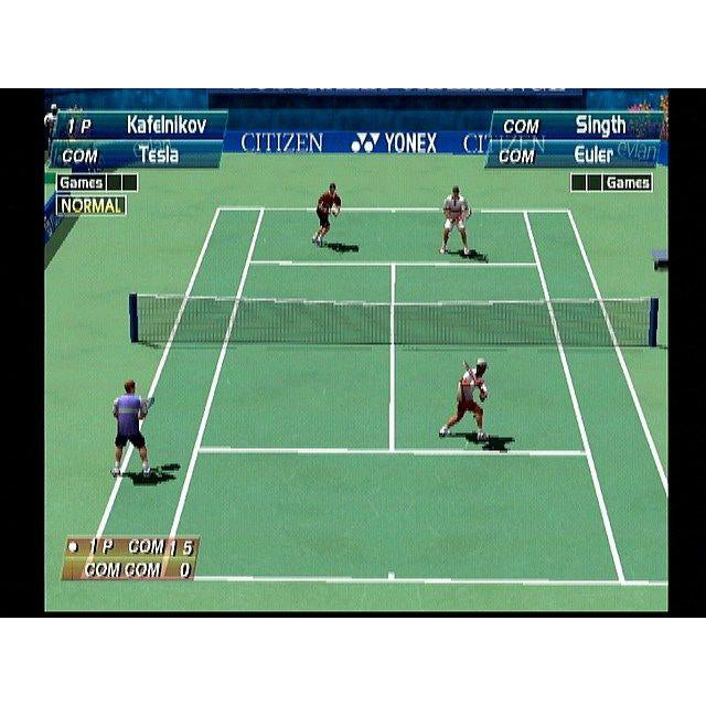 Virtua Tennis - Sega Dreamcast Game Complete - YourGamingShop.com - Buy, Sell, Trade Video Games Online. 120 Day Warranty. Satisfaction Guaranteed.