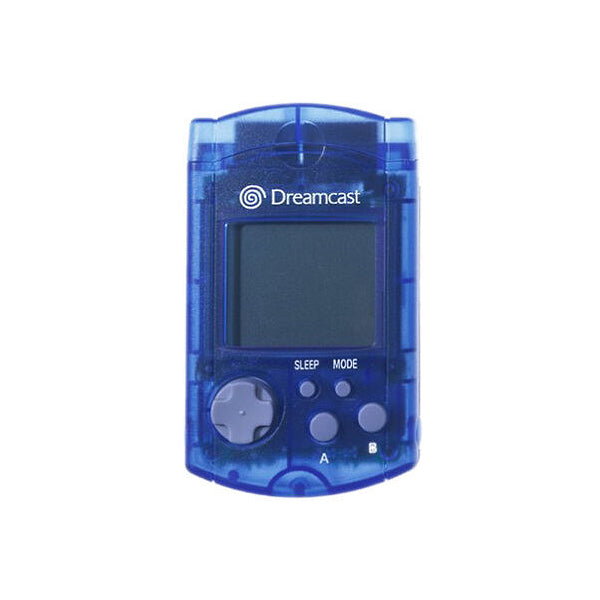 Sega Dreamcast VMU - Transparent Blue - YourGamingShop.com - Buy, Sell, Trade Video Games Online. 120 Day Warranty. Satisfaction Guaranteed.