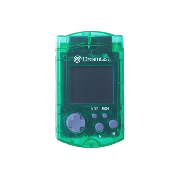 Sega Dreamcast VMU - Transparent Green - YourGamingShop.com - Buy, Sell, Trade Video Games Online. 120 Day Warranty. Satisfaction Guaranteed.