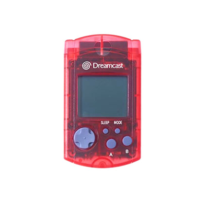 Sega Dreamcast VMU - Transparent Red - YourGamingShop.com - Buy, Sell, Trade Video Games Online. 120 Day Warranty. Satisfaction Guaranteed.