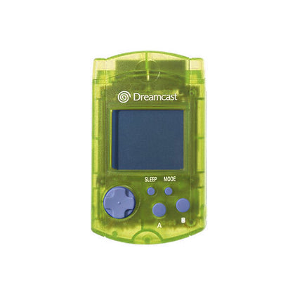Sega Dreamcast VMU - Clear Yellow