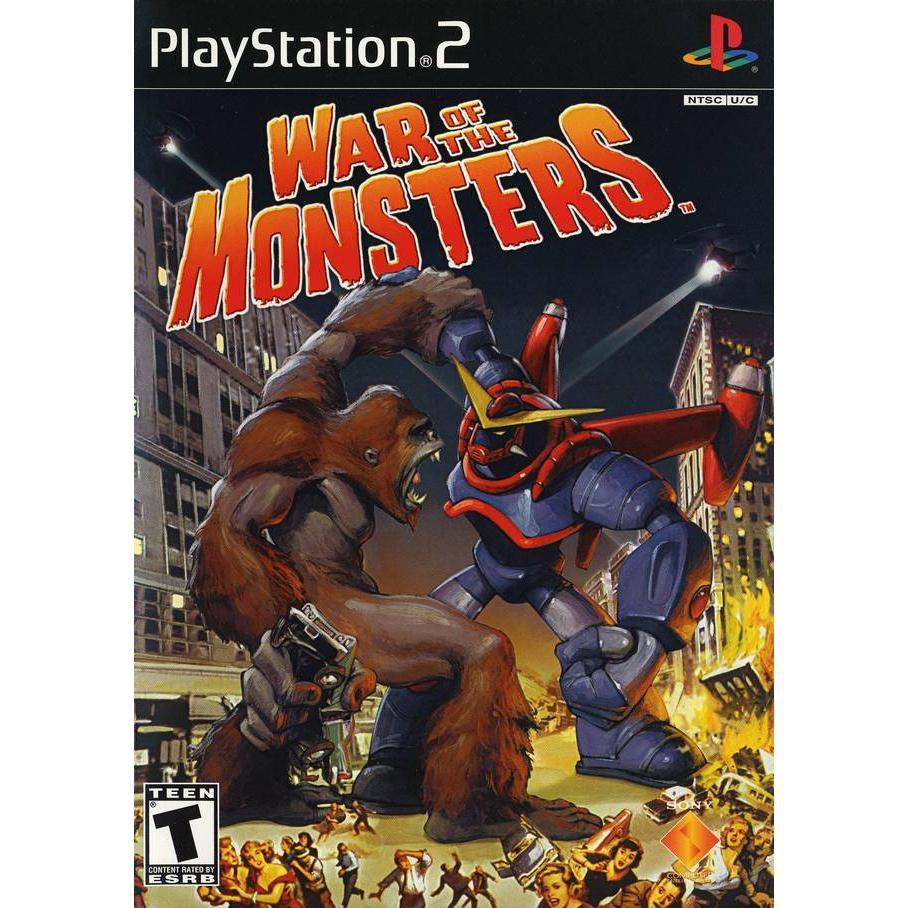 War of the Monsters - PlayStation 2 (PS2) Game Complete - YourGamingShop.com - Buy, Sell, Trade Video Games Online. 120 Day Warranty. Satisfaction Guaranteed.
