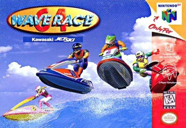 Wave Race 64 - Authentic Nintendo 64 (N64) Game Cartridge