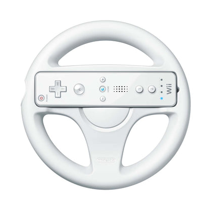 Nintendo Wii Wheel - White