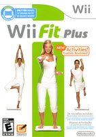 Wii Fit Plus - Nintendo Wii Game