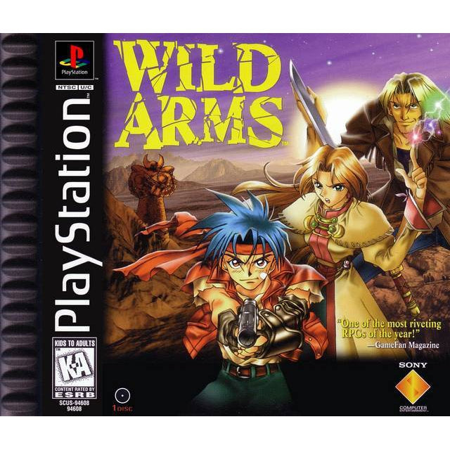 Wild Arms - PlayStation 1 (PS1) Game Complete - YourGamingShop.com - Buy, Sell, Trade Video Games Online. 120 Day Warranty. Satisfaction Guaranteed.