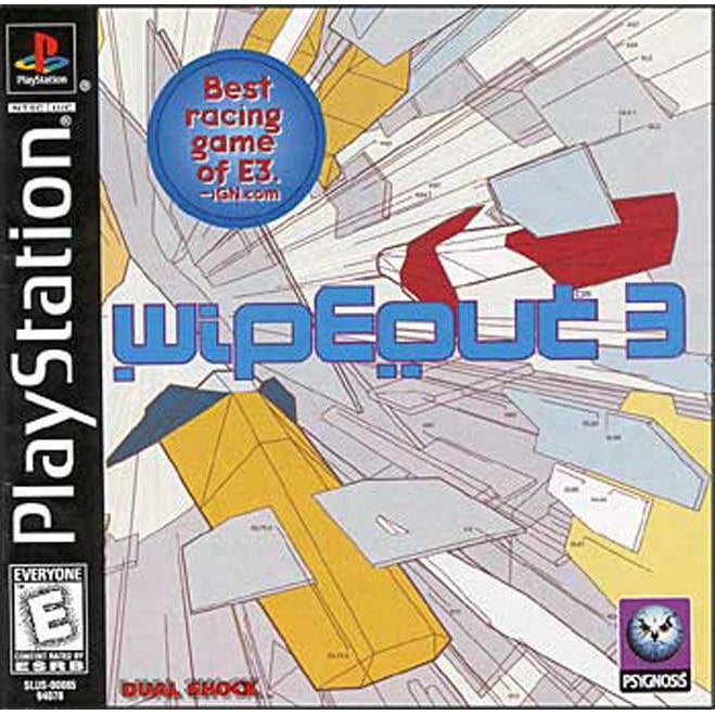 Wipeout 3 - PlayStation 1 (PS1) Game Complete - YourGamingShop.com - Buy, Sell, Trade Video Games Online. 120 Day Warranty. Satisfaction Guaranteed.