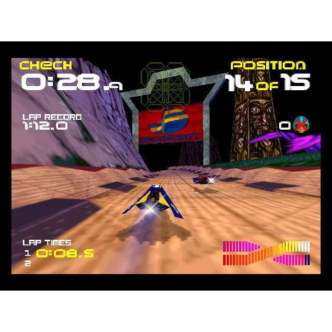 WipEout 64 - Authentic Nintendo 64 (N64) Game Cartridge - YourGamingShop.com - Buy, Sell, Trade Video Games Online. 120 Day Warranty. Satisfaction Guaranteed.