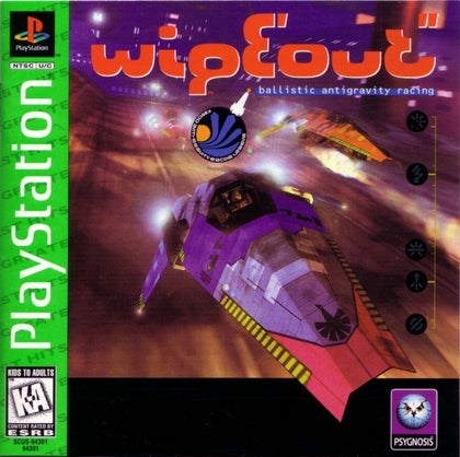 Wipeout (Greatest Hits) - PlayStation 1 (PS1) Game