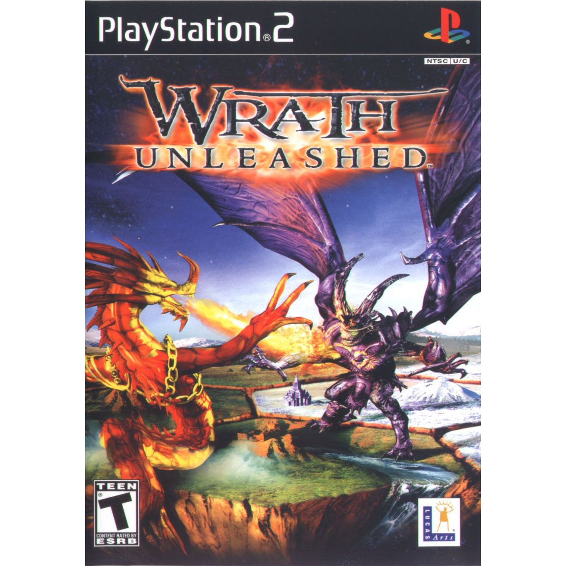 Wrath Unleashed - PlayStation 2 (PS2) Game Complete - YourGamingShop.com - Buy, Sell, Trade Video Games Online. 120 Day Warranty. Satisfaction Guaranteed.