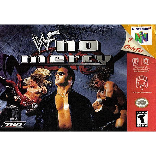 WWF No Mercy - Authentic Nintendo 64 (N64) Game Cartridge - YourGamingShop.com - Buy, Sell, Trade Video Games Online. 120 Day Warranty. Satisfaction Guaranteed.