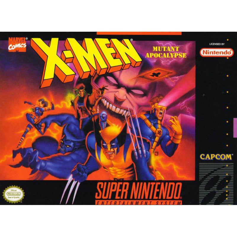 X-Men: Mutant Apocalypse - Super Nintendo (SNES) Game - YourGamingShop.com - Buy, Sell, Trade Video Games Online. 120 Day Warranty. Satisfaction Guaranteed.