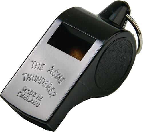 Acme 558 Deep Tone Plastic Thunderer Whistle