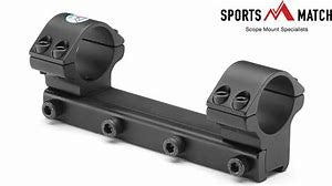 Sportsmatch 9.5-11mm Dovetail One Piece Scope Mounts