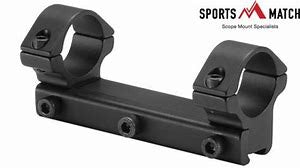 Sportsmatch One Piece Economy Scope Mount
