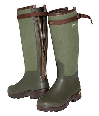 Arxus Primo Canvas Zip Wellington Boot