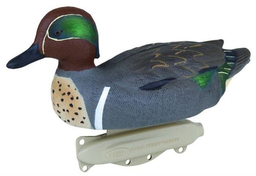 Flambeau Classic Green Wing Teal Duck Decoy - Pack of 6