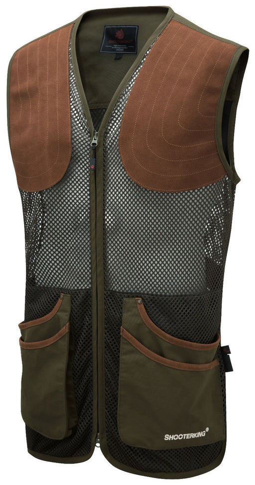 ShooterKing Clay Shooter Summer Vest - Green