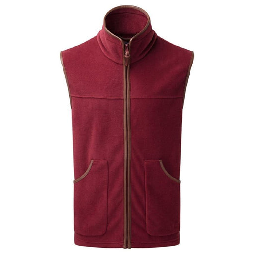 ShooterKing Performance Fleece Gilet - Bordeaux