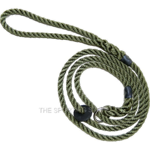Bisley Deluxe Dog Lead - Green