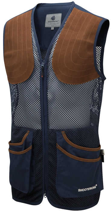ShooterKing Clay Shooter Summer Vest - Blue