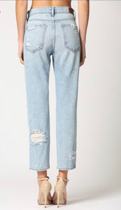 Close Encounters Distressed Denim