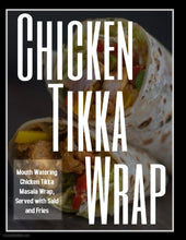 Chicken Tikka Wrap