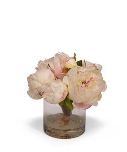 Fresh Cut Faux Peony - Cream