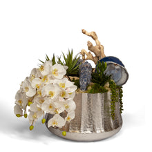 Load image into Gallery viewer, Draped Orchids in Embellished Container
