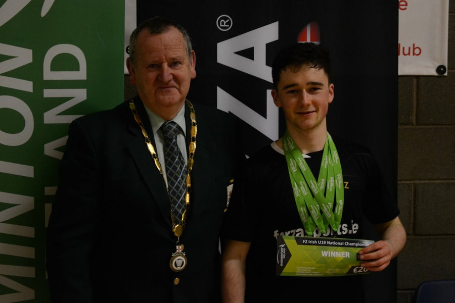 MCALISTER WINS TREBLE AT U19 NATIONALS IN LISBURN