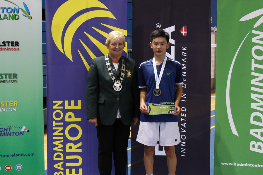 DOUBLE GOLD FOR MATTHEW AT FZ FORZA IRISH U15 OPEN