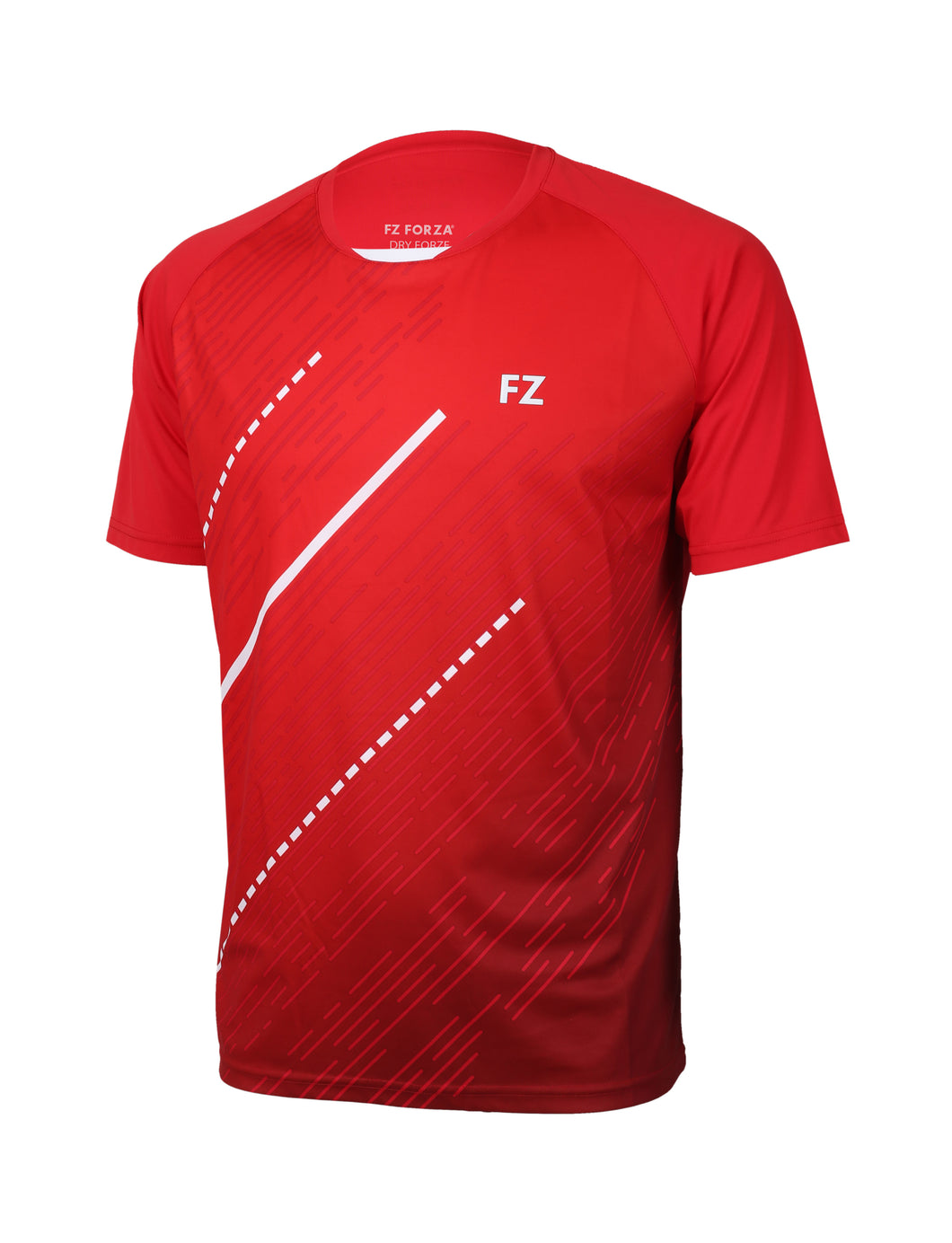 FORZA BALKAN JNR T-SHIRT (CHINESE RED)