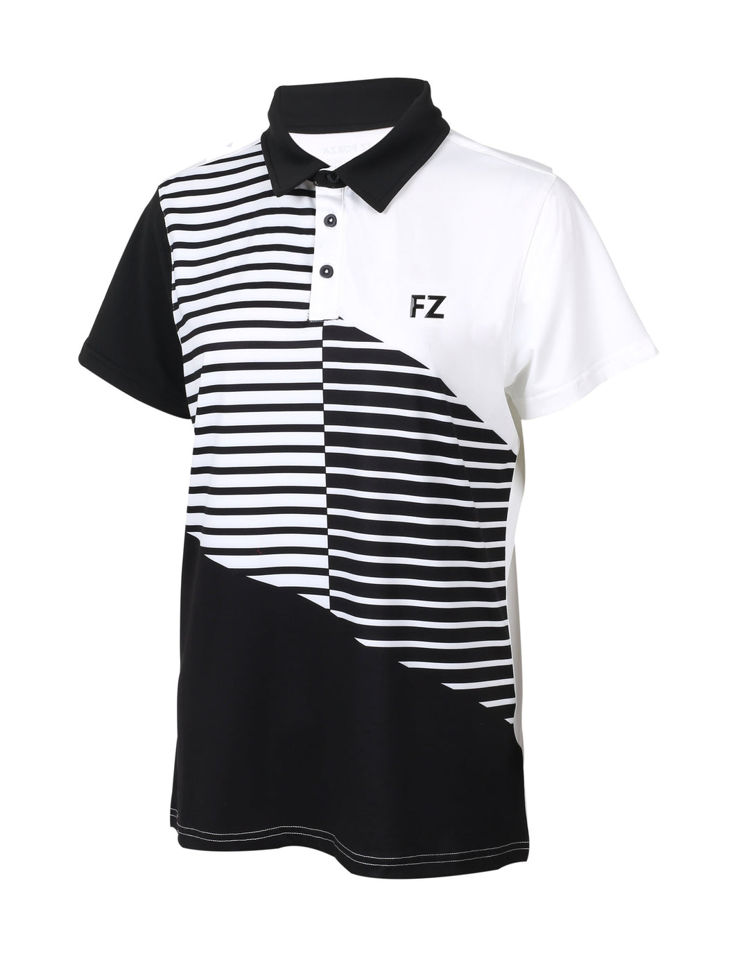 FORZA BOULDY POLO T-SHIRT COLLAB (BLACK)