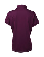 FORZA BIANCA POLO SHIRT (PICKLED BEET)