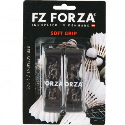 FZ Forza Soft Grip (2pcs) Black