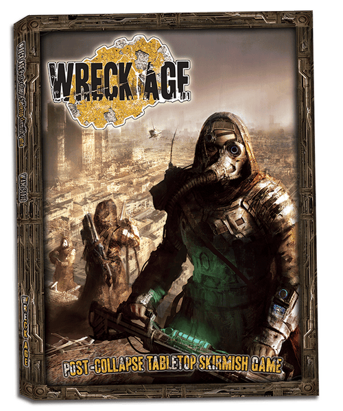 Wreck Age: Post-collapse Tabletop Skirmish Game Rulebook PDF