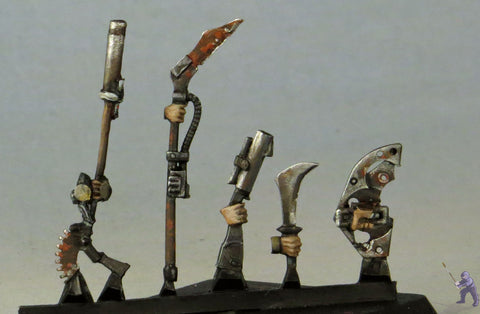 Wreck Age Post Collapse Weapon Sprues