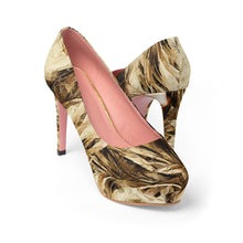 Hot Blonde - Women's Platform Heels