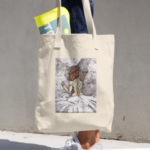 """She is Nature"" Cotton Tote Bag"