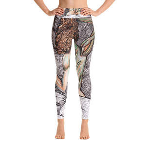 """She is Nature"" Yoga Leggings"