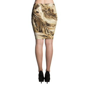 """ Mysterious Blonde "" Pencil Skirt"