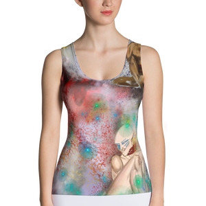 """ Four New Goddesses "" Sublimation Cut & Sew Tank Top"
