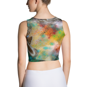""" Four New Goddesses "" Sublimation Cut & Sew Crop Top"