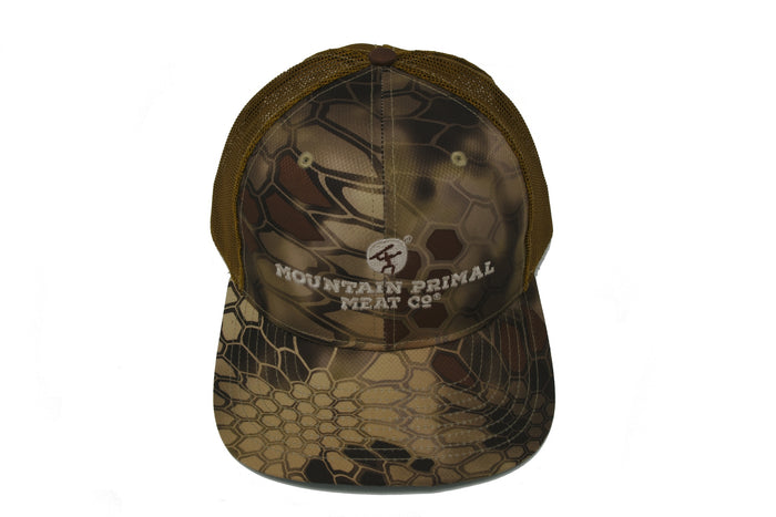 Highland Camo Kryptek Pattern Mesh Hat