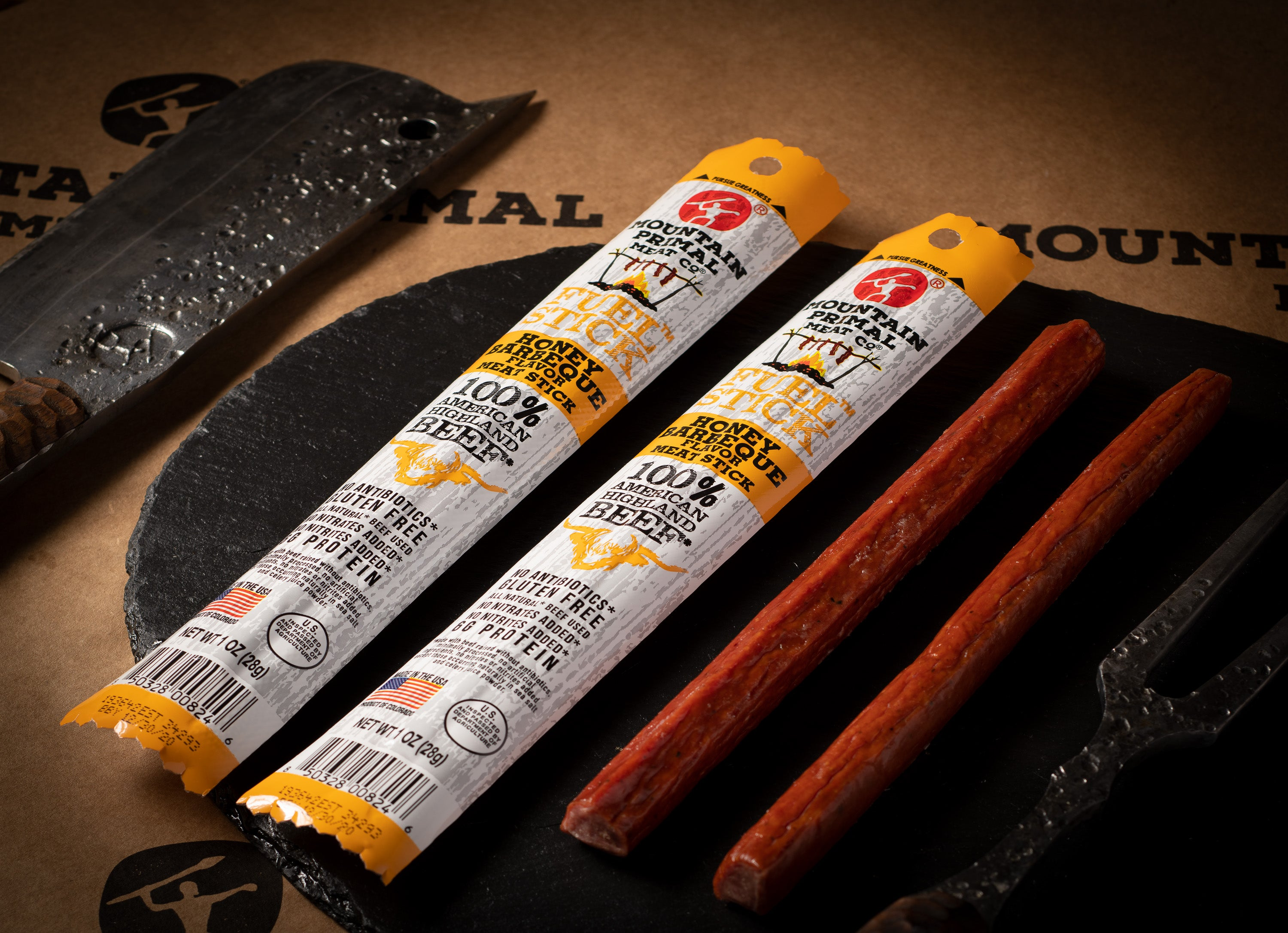 Mountain Primal Fuel Stick - Honey Barbecue Flavor
