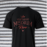 I Love Vegetarians Medium Rare Tee